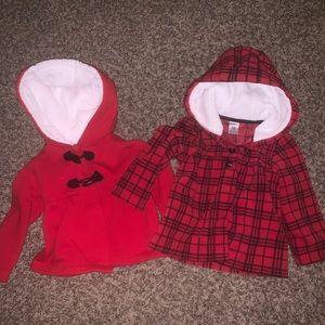 Fall/Winter button jackets